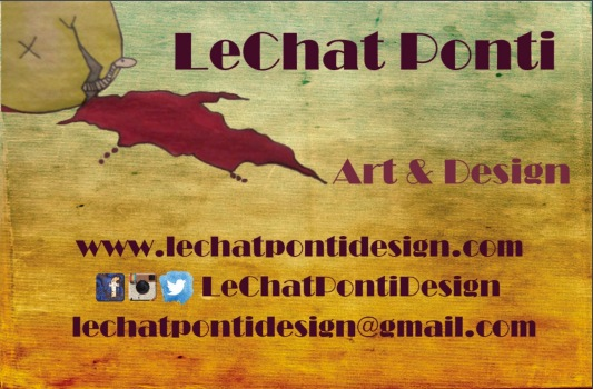 LeChatPonti's Business Card_Front