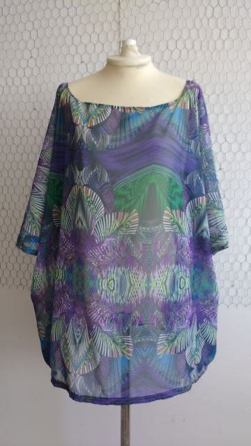 Flowy Psychedelic Tunic
