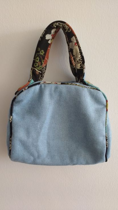 50s Bag — Narrow Handles, Blue